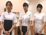 情慾に餓えた研修中の白衣の天使が欲求不満な男性入院患者とSEX1
