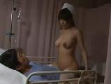 セックス欲に餓えた研修中の白衣の天使が欲求不満な男性入院患者とエッチ2