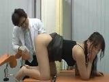 産婦人科でセクハラ診察されてハメられちゃった人妻
