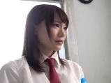 鈴村あいり清純系の可愛い風紀委員長と部室でエッチ