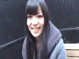 出会い系サイトで知り合った黒髪ロングの可愛い素人娘とハメ撮りエッチ