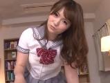 西川ゆい可愛い顔してめちゃ言葉使いが悪い制服女子に命令されて・・・