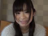 彼氏に撮影されたパイパンの素人美人女子大生のハメ撮り動画