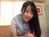 姫川ゆうな 女子校生が生脱ぎパンティを使って手コキ