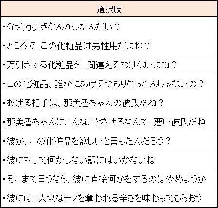 万引き少女_攻略3