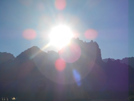 セドナの朝日