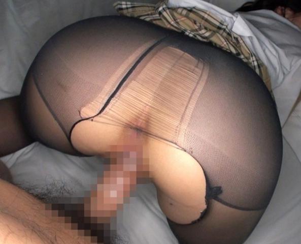 女子校生の若いムチ脚にパンストを穿させて足コキや着衣SEXの脚フェチDVD画像2