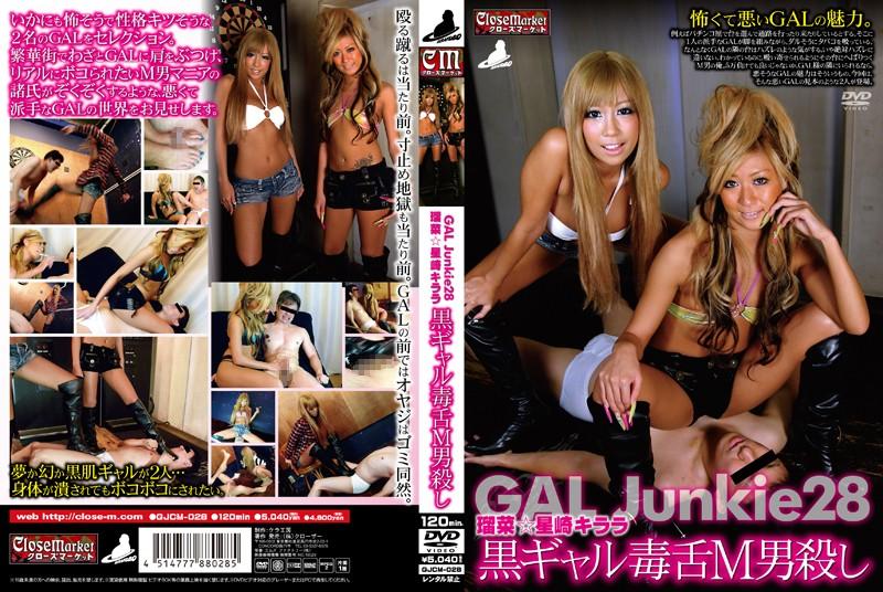 GAL Junkie 28 瑠菜☆星崎キララ 黒ギャル毒舌M男殺しの購入ページへ