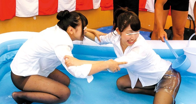黒パンストOL限定!!黒ストッキングぬるぬる!ローション相撲の脚フェチDVD画像2
