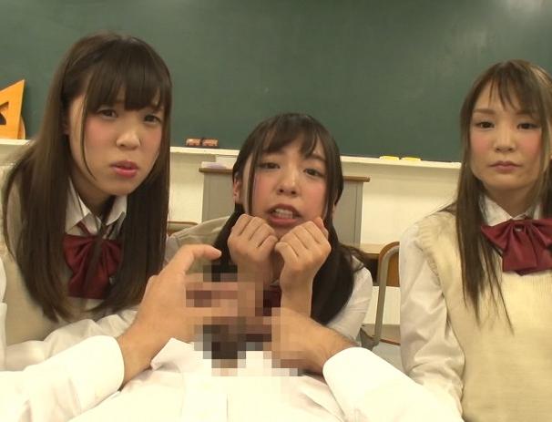女子校生に強制センズリをさせられ上履き靴コキで責められるの脚フェチDVD画像5