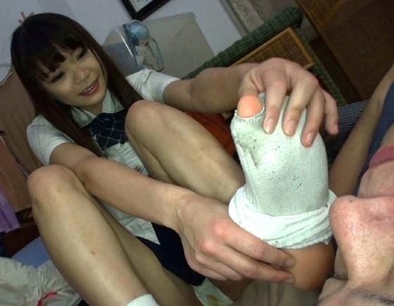 ロングブーツで蒸れて足臭が漂うパンストの足裏で足コキ責めの脚フェチDVD画像1