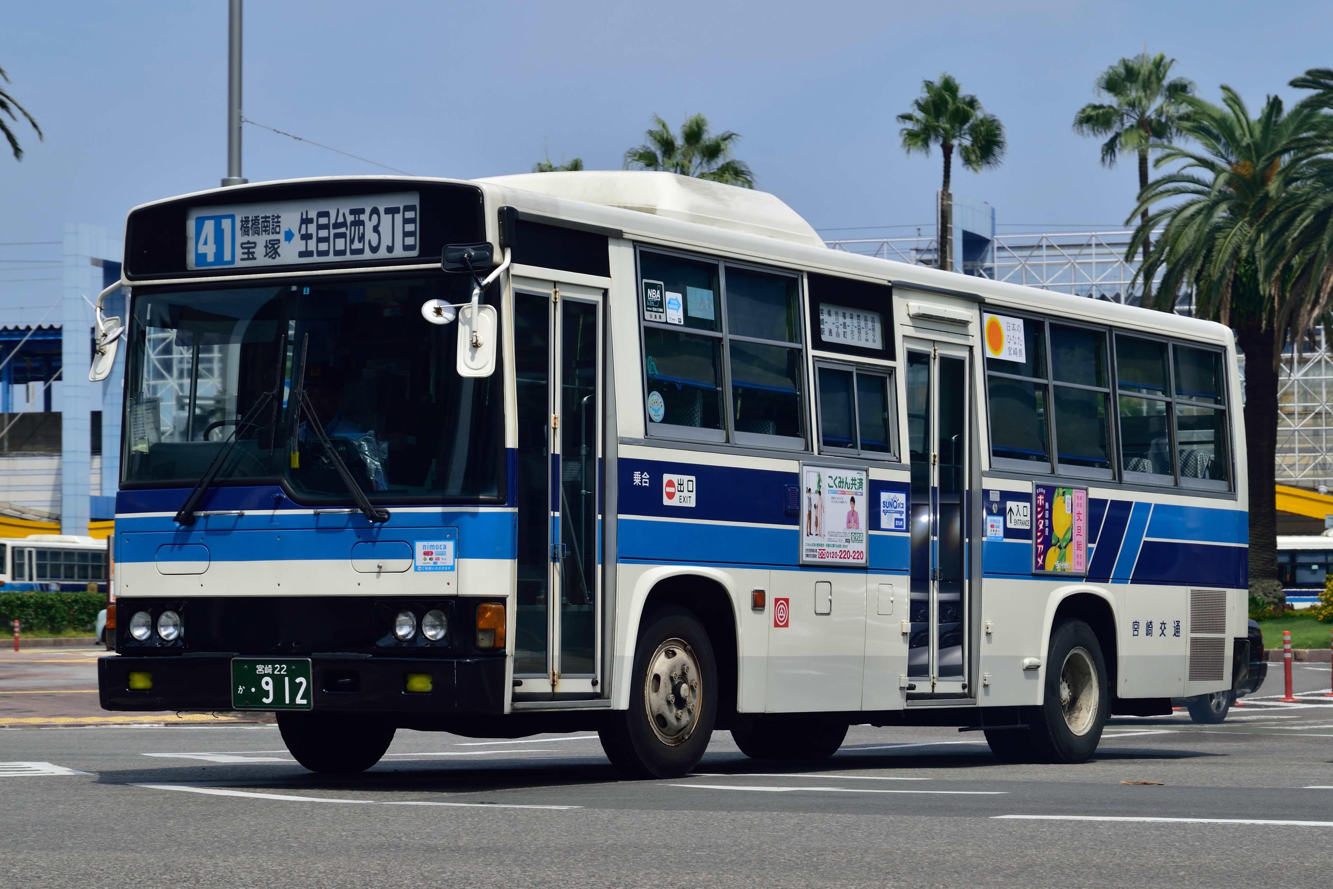 交通 路線 バス 宮崎