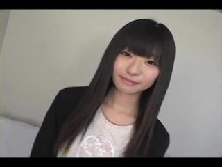 【本物 素人エロ動画】 AV面接でごく普通の女の子がアナル見せオナニー!
