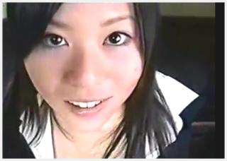 【無修正】 指原莉乃似でかわいい!! 制服美女と温泉旅行先でAV撮影
