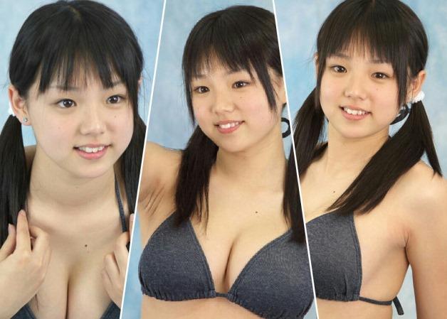 (篠崎愛(グラドル)ミズ着グラビアお乳写真・ムービー)Gカップ乳でオナルんゴ☆