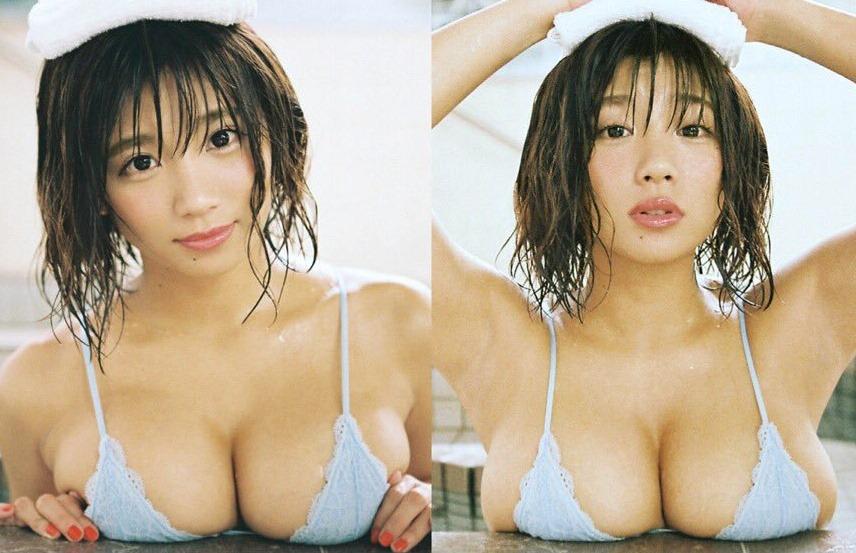 (葉月あやぽちゃ美ボデイ写真)お乳お尻がキューティくる☆