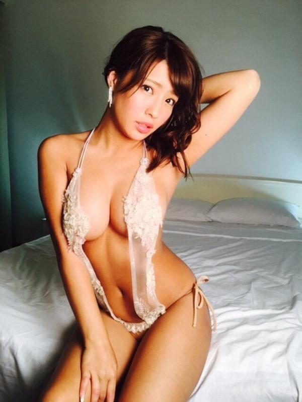 黒ギャル風G乳橋本梨菜9