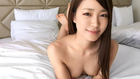 (受付嬢アンナのハメドリSEX写真)AV体験アソコから愛液滴る☆