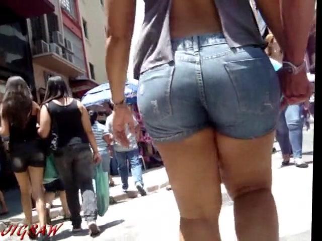 ストリートの爆尻ちゃんたちを捉えた映像をご覧ください!【ぽっちゃり素人】