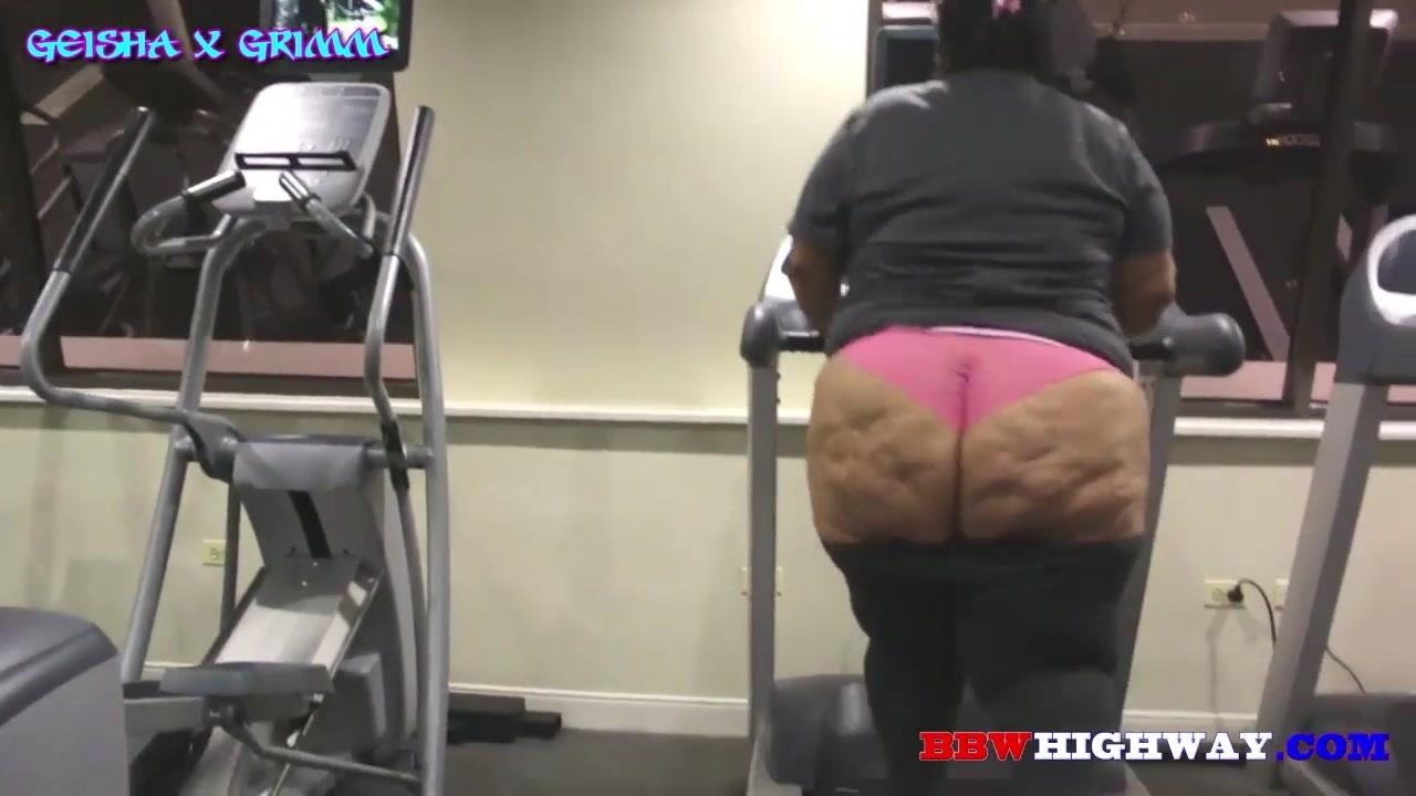 スポーツジムでダイエットを頑張る超巨尻コンプレックスの人妻を激撮!GeishaGrimmWorkout