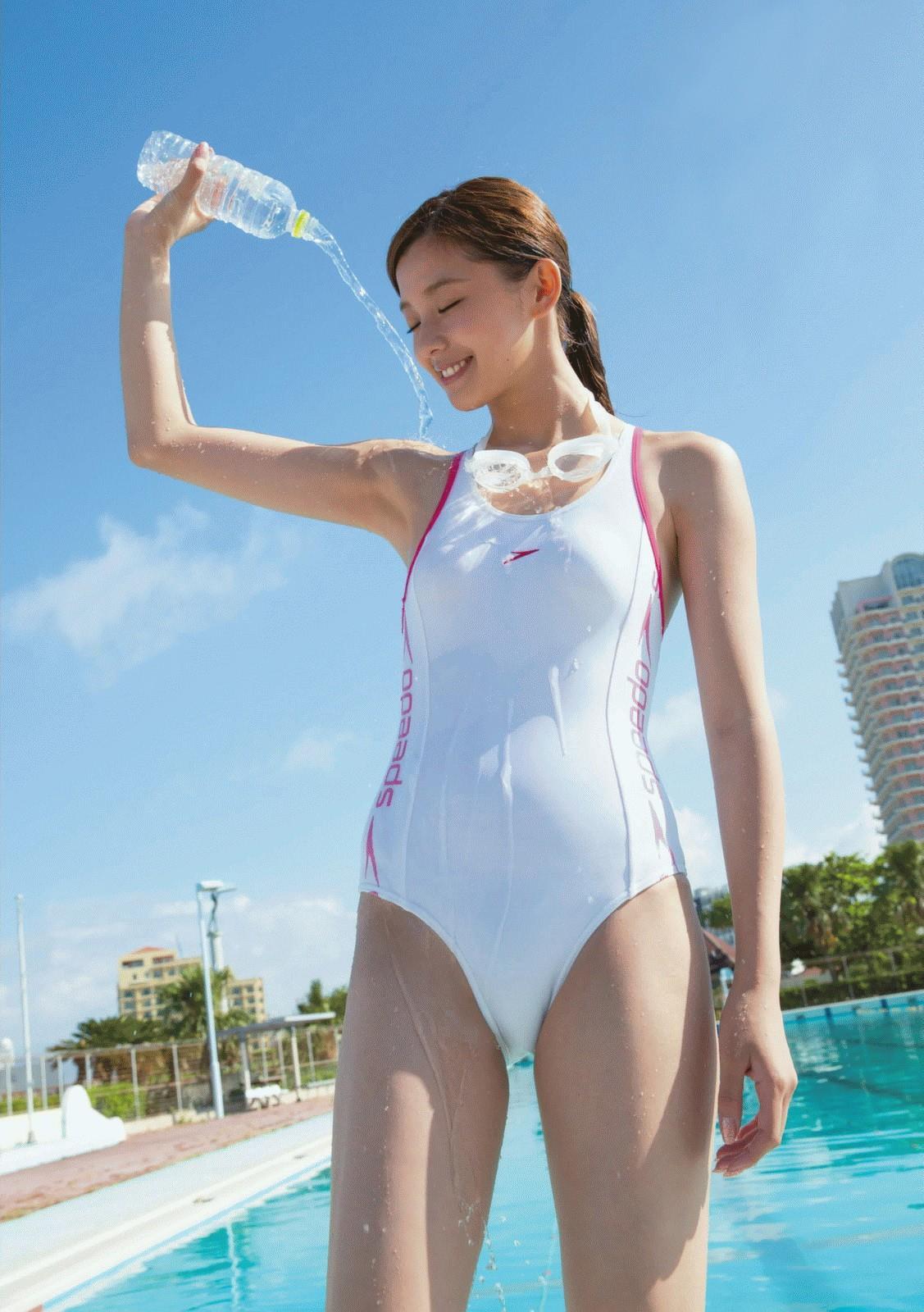 ボディラインを楽しむなら競泳水着が一番と言う事実を知っているか? パート15