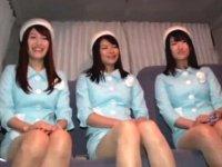 新宿デパートに勤務するエレベーターガールとアフターファイブ乱交!