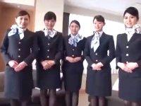 フライト終わりの美人CA5人×童貞オヤジがハーレム王様ゲーム開催!