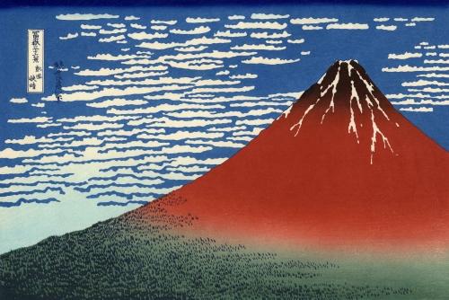 ナンテール赤富士