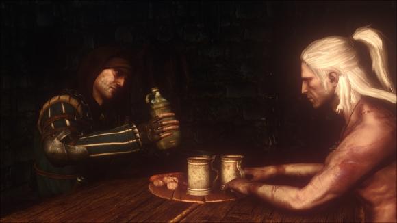 The Witcher 2 Assassins of Kings Enhanced Edition ロッシュからの尋問と暗殺者についての質問