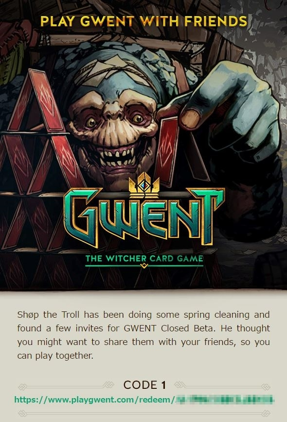 Play Gwent with Friends