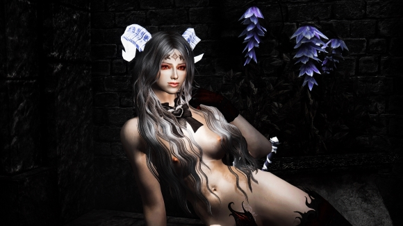 Porcelain Pale Vampire Skin For Females and Males