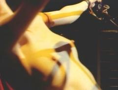 ゆれる蘭の乳房