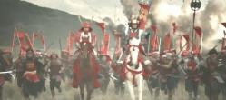 徳川本陣を突き進む真田の赤備え隊