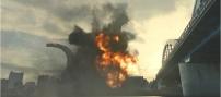 ミサイル弾が爆裂する