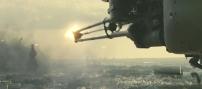 自衛隊ヘリの攻撃始まる