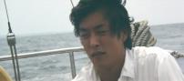 海にいる一郎