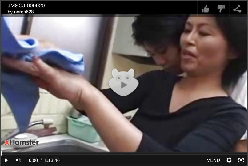 【母子相姦動画】実の息子を恋人のような存在と言い切る五十路熟女は禁断の肉体関係を止められない!佐倉純子