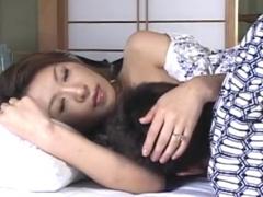 【近親相姦動画】理想の女性であるずっと美しいままの叔母と朝から体を重ねてハメまくる念願の二人きりの時間!