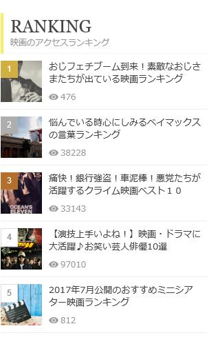 ranking share 7月