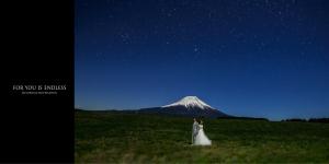 富士山と星空2017060702