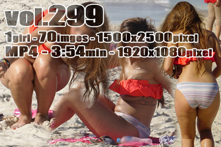 vol299-色気たっぷりむっちりグラマービキニ日焼けアジアンギャル(画像&動画)