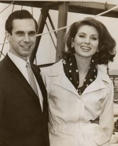 Suzy Parker & Bradford Dillman, 1963