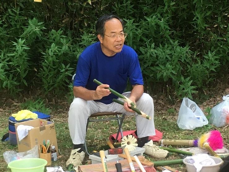 おかんじゃけ作り松本先生3