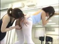 【LGBT】バレエ教室に通う国民的美少女をアイドルをレズビアン講師が頂いちゃう!!!