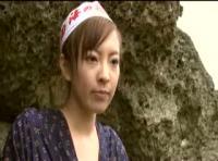 【素人エロビデオ】可愛すぎる海女さんとして全国テレビにも出た事のある海女さんが一度限りのAVデビュー!