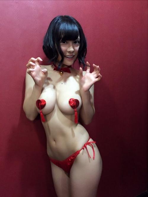 AV女優 おっぱいの谷間 Twitter画像 09
