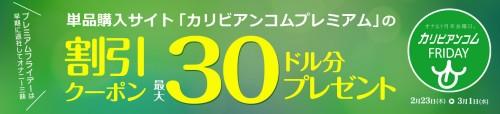 【カリビアンコム】プレミアムフライデーキャンペーン!