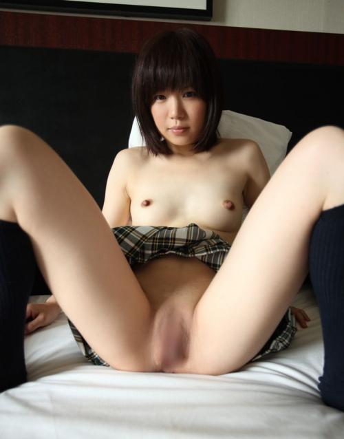 制服JK M字開脚 10
