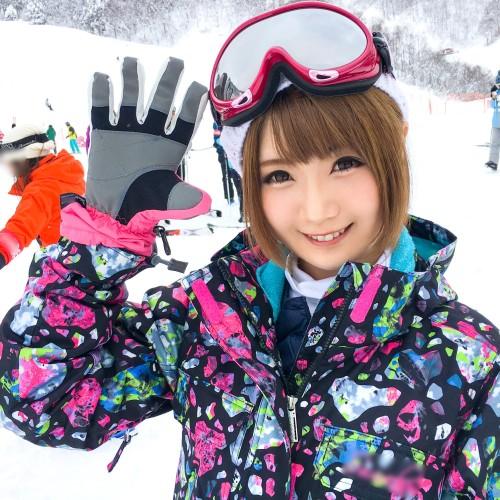 MGS動画:ナンパTV『スノボナンパ 02 in 新潟』 まや 22歳(川村まや) インフォメーションセンターの受付嬢 200GANA-1281
