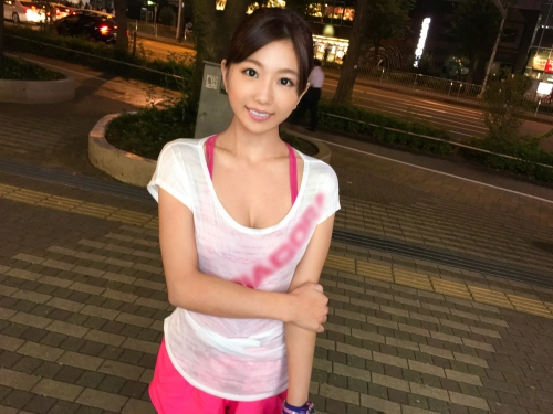 MGS動画:ナンパTV 『ジョギングナンパ 03』 れな 22歳(清本玲奈) 外国語スクールの事務員 200GANA-1206 01